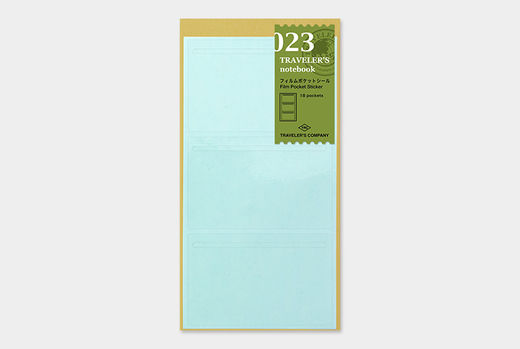 Traveler's Notebook | 023 Film Pocket Refill Regular Size
