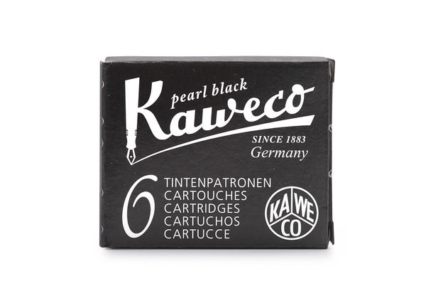 Kaweco Ink Cartridges 6 pieces Pearl Black