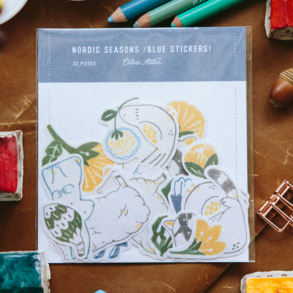 OURS Nordic Seasons -Winter- Sticker Pack